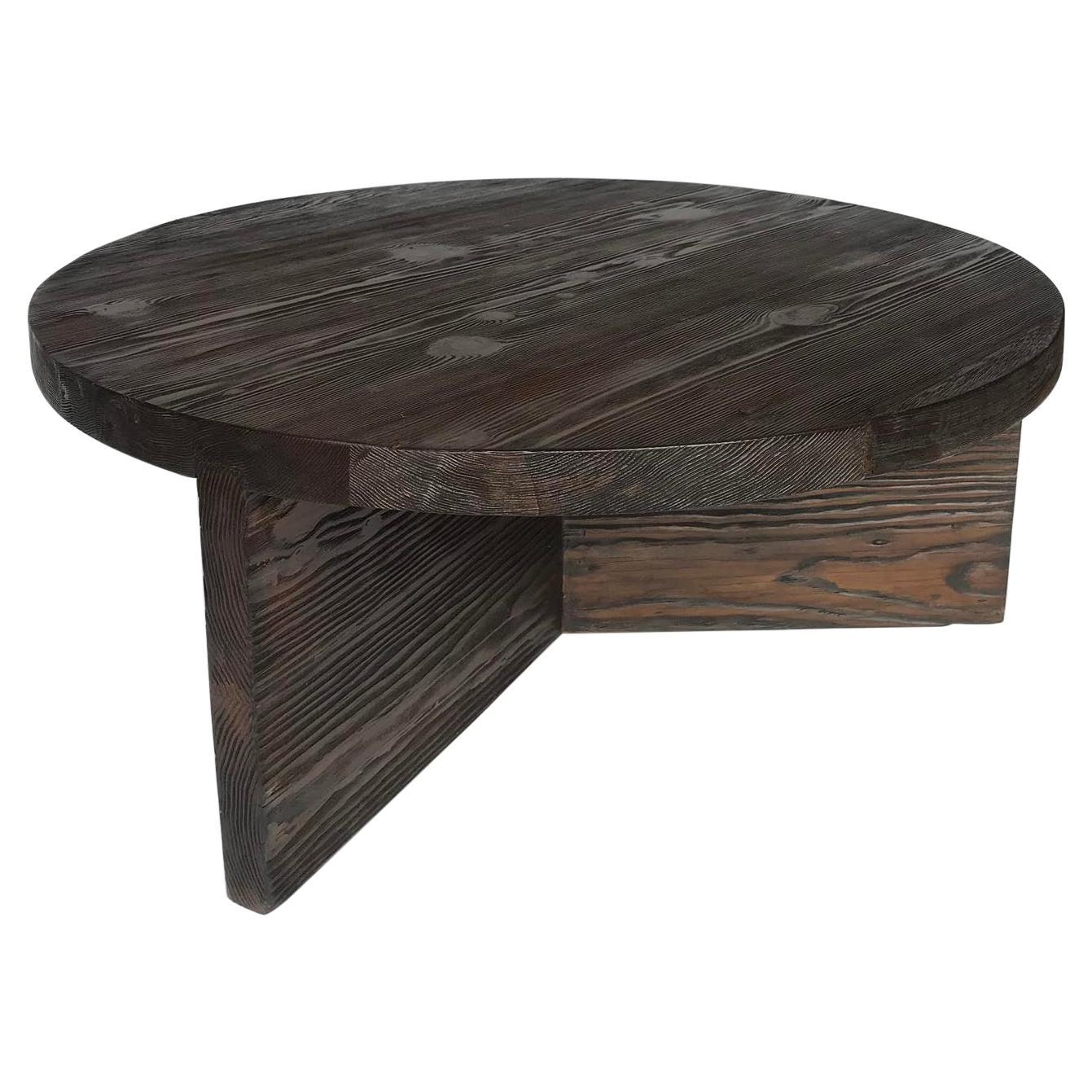 Rustic Reclaimed Wood Coffee Table