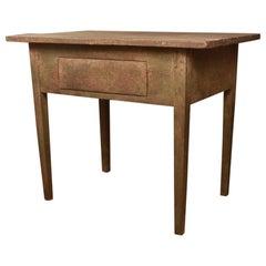 Rustic Swedish Side Table