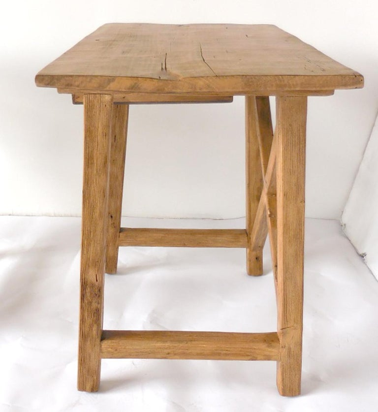 American Rustic Tables with Drawer For Sale