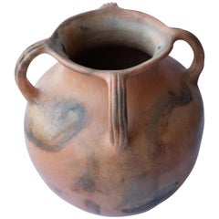 Rustic Vessel Mexican Terracotta Natural Clay Handmade in Oaxaca Ceramic