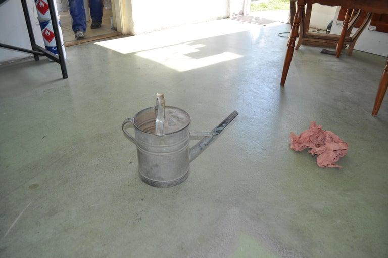 Rustic Water Bucket, circa 1950s In Good Condition For Sale In Lábatlan, HU