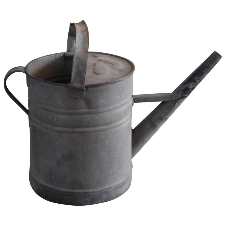 Rustic Water Bucket, circa 1950s For Sale