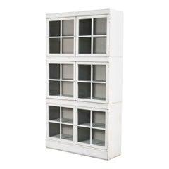 Rustic Windowpane Bookcase