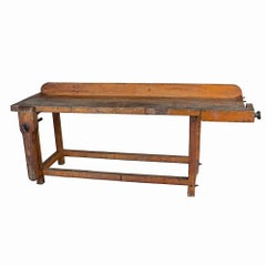 Rustic Wood Working Bench