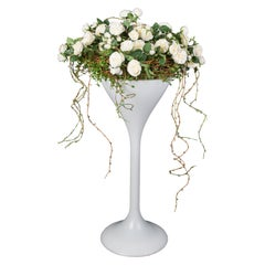 Rusty Birch Rose Basket Set Arrangement, Flowers, Italy