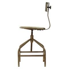Rusty Factory Chair, Czechoslovakia, circa 1940