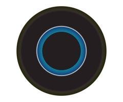 Black and Blue Circle