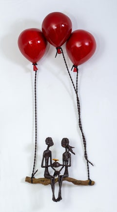 Ruth Bloch, Flying with 3 balloons