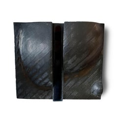 Untitled Black Wall Sculpture by Ruth Duckworth (INV# NP3148)