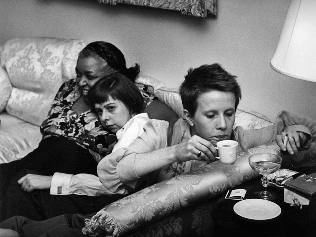 """Ethel Waters, Carson McCullers, Julie Harris ,  """"Member of the Wedding"""" NYC"""