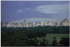 Rainbow, Central Park, New York, archival pigment print