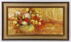 Floral Still Life Oil Painting Attr. Ruth Rodman