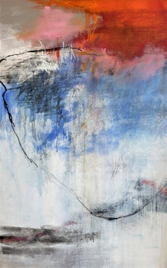 Absolute Energy by Ruth Schleeh - Contemporary Red, Abstract Painting
