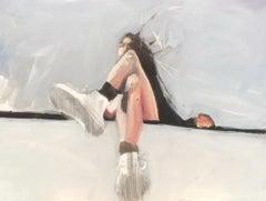 Girl on a Ledge