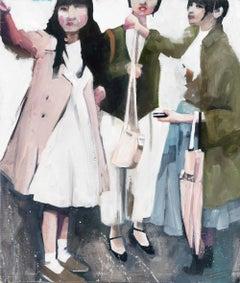 Girls Shopping in Japan
