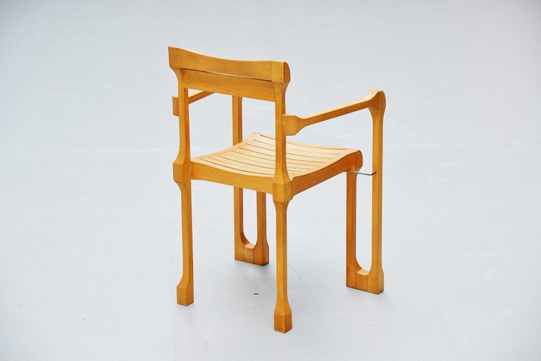 Late 20th Century Ruud Jan Kokke Armchairs Holland 1990 For Sale