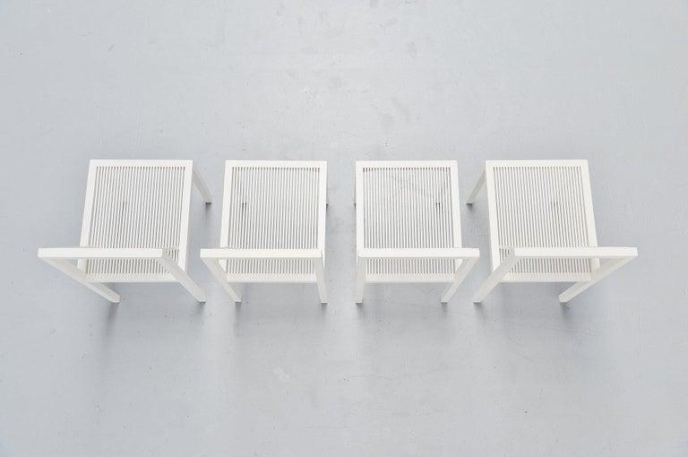 Dutch Ruud Jan Kokke Dining Chairs Metaform 1984 For Sale