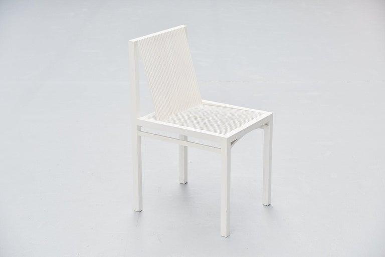 Ruud Jan Kokke Dining Chairs Metaform 1984 In Good Condition For Sale In Roosendaal, Noord Brabant