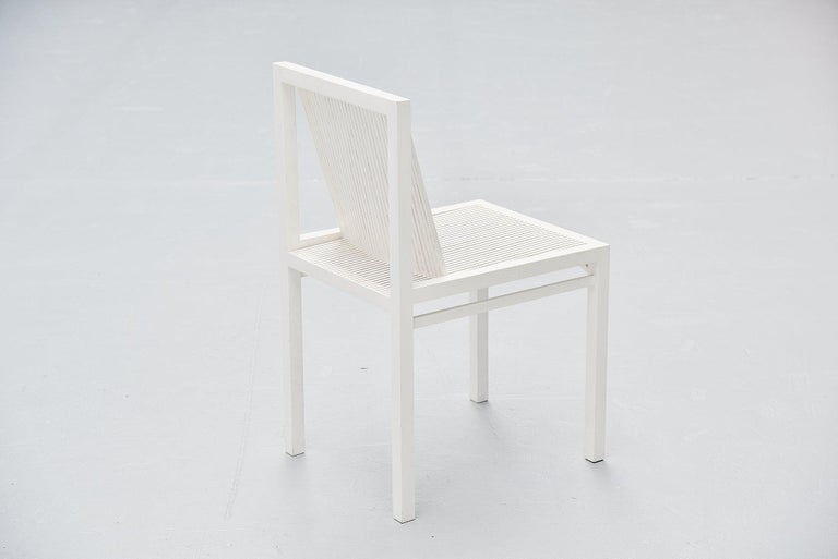 Late 20th Century Ruud Jan Kokke Dining Chairs Metaform 1984 For Sale