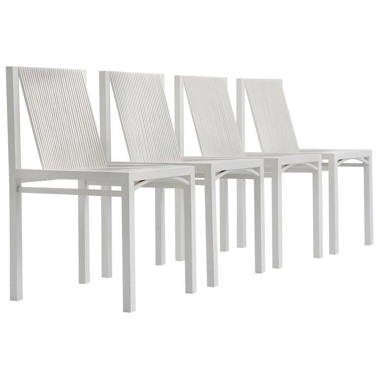 Ruud Jan Kokke Dining Chairs Metaform 1984 For Sale