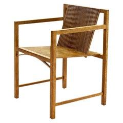 Ruud-Jan Kokke Slat Chair, The Netherlands, 1986