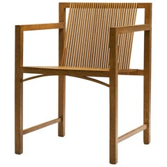 Ruud-Jan Kokke Slat Chair, the Netherlands, 1986