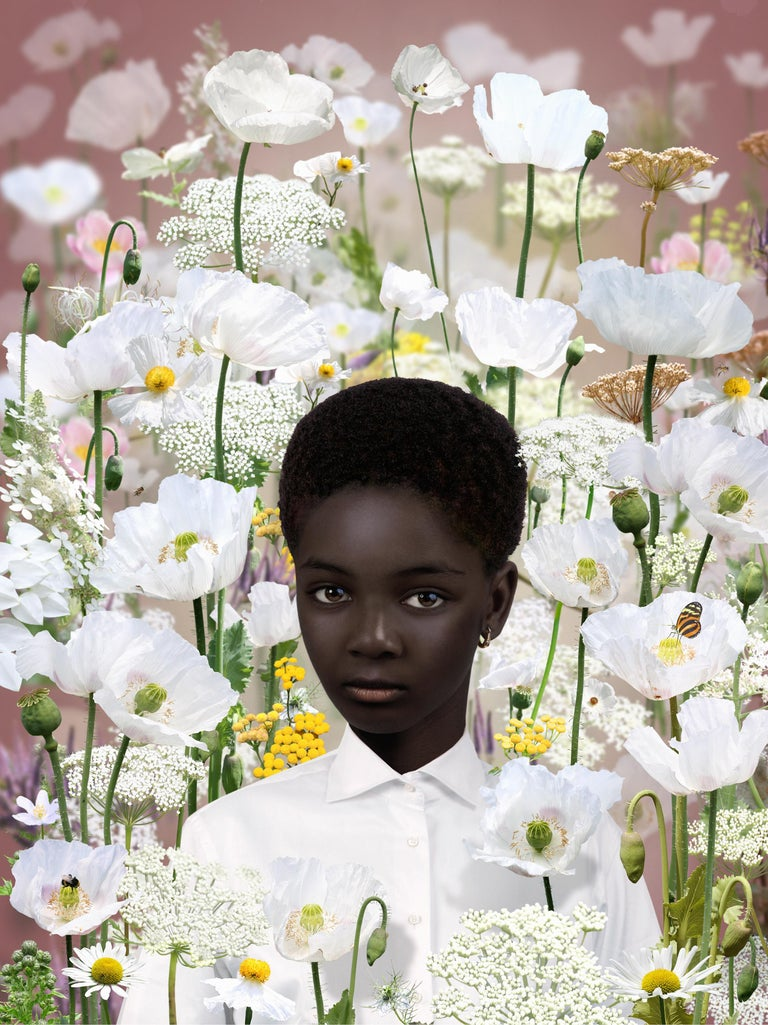 Ruud van Empel Color Photograph - Analogy #1, 2016