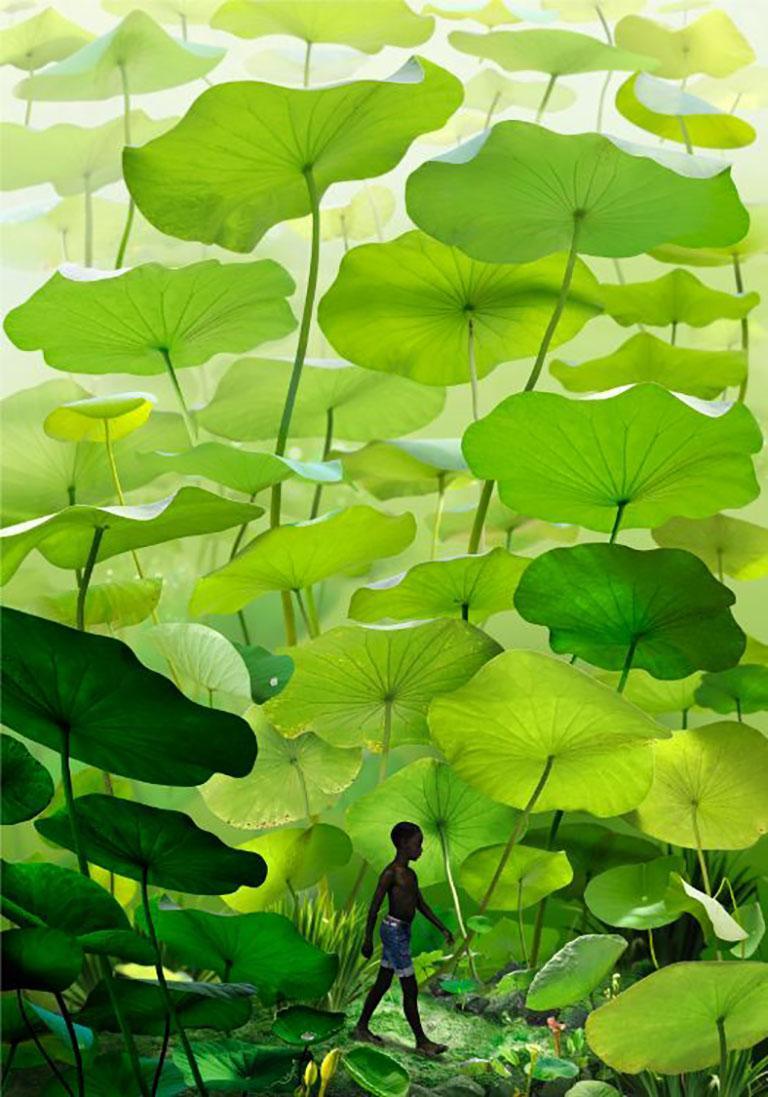 Ruud van Empel Color Photograph - Boy