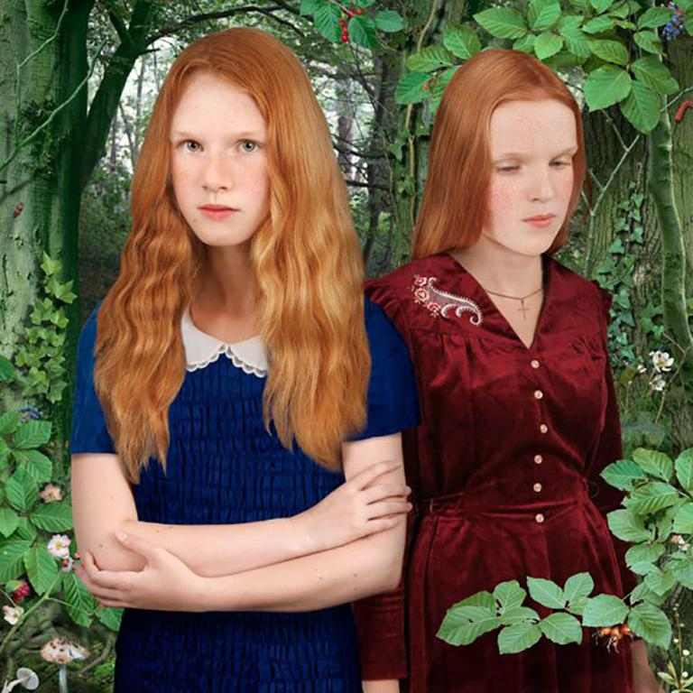 Ruud van Empel Color Photograph - Brothers & Sisters #2