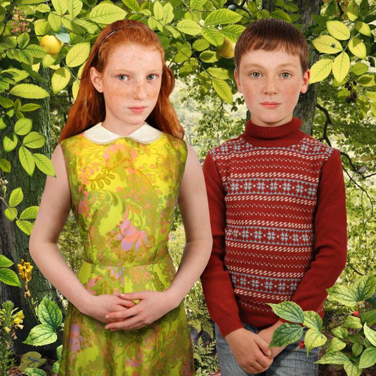 Ruud van Empel Color Photograph - Brothers & Sisters #3