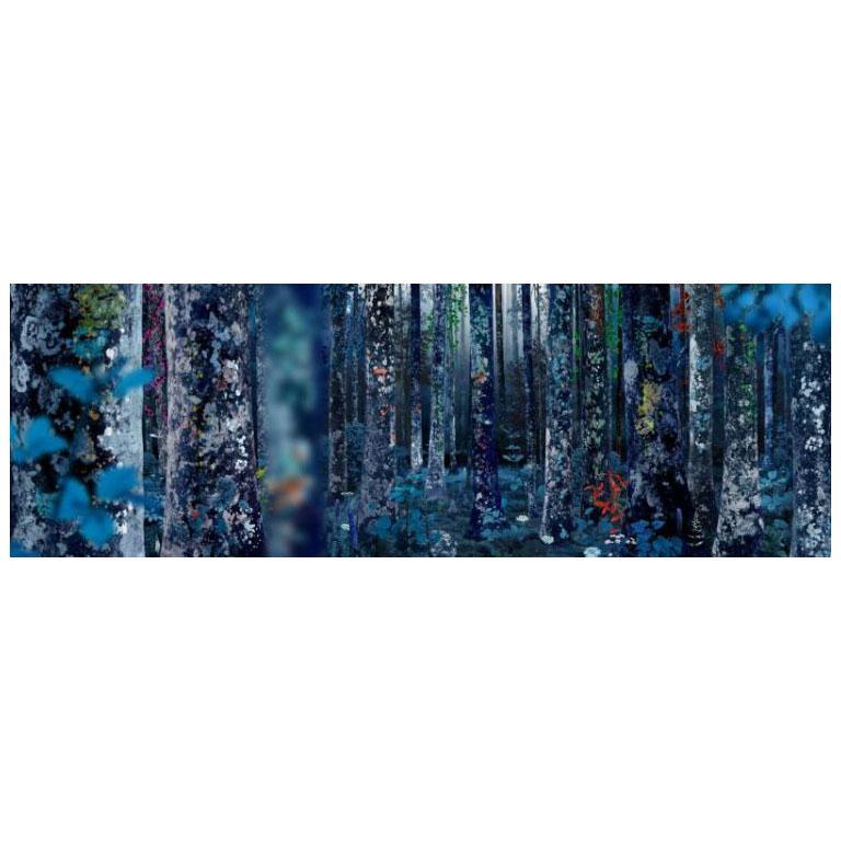 Ruud van Empel Color Photograph - Collage #8