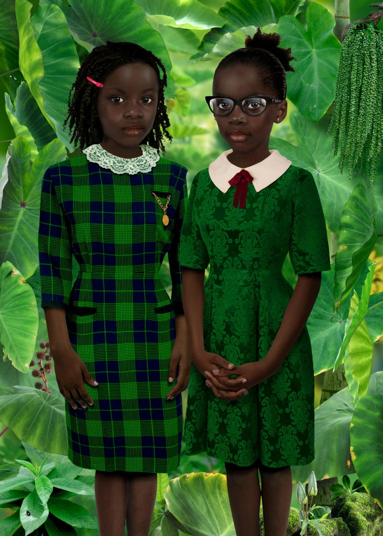 Ruud van Empel Color Photograph - Identity #1