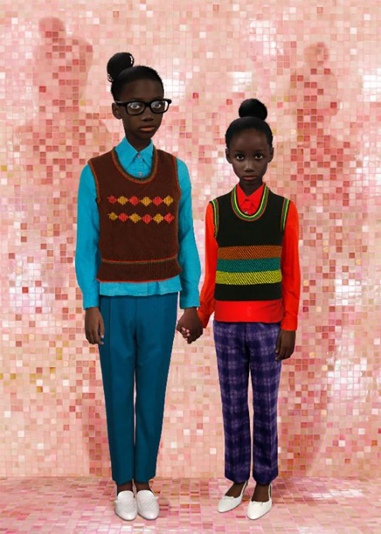 Ruud van Empel Color Photograph - Identity #4