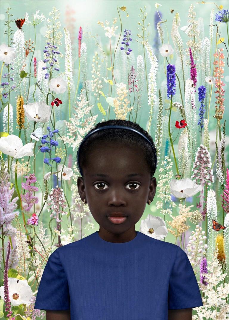 Ruud van Empel Color Photograph - Perception