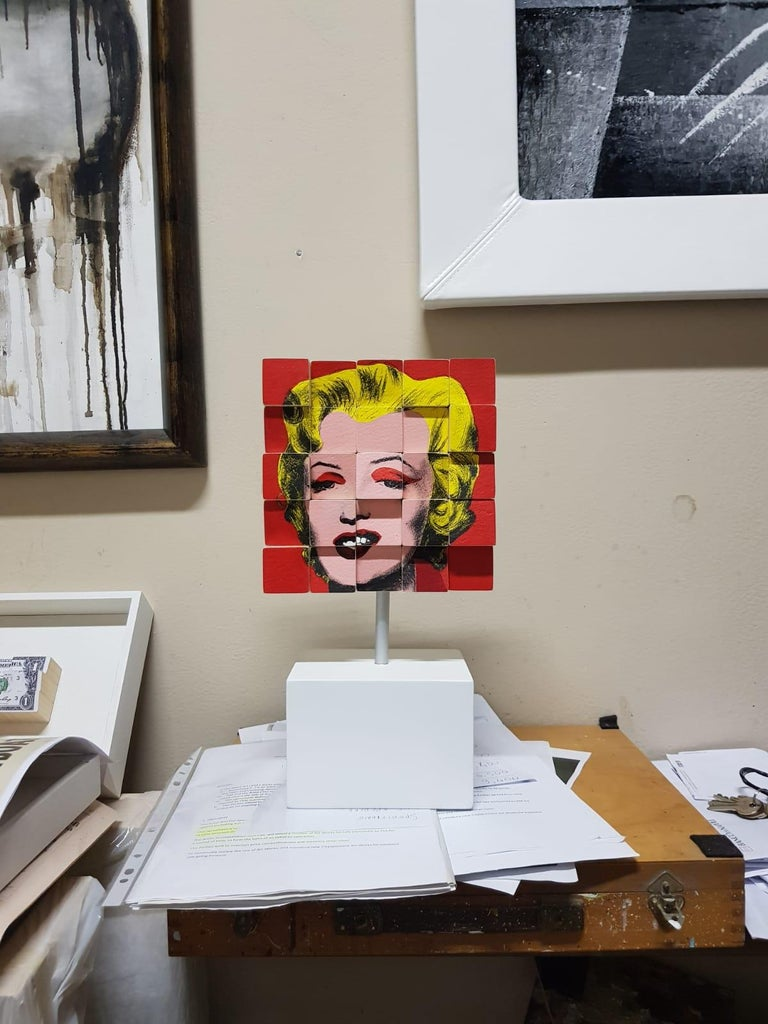 Marylin - Conceptual Sculpture by Rux Art