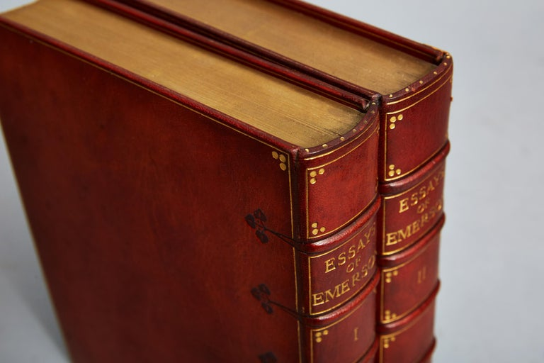 R.W. Emerson's Essays In Good Condition In New York, NY