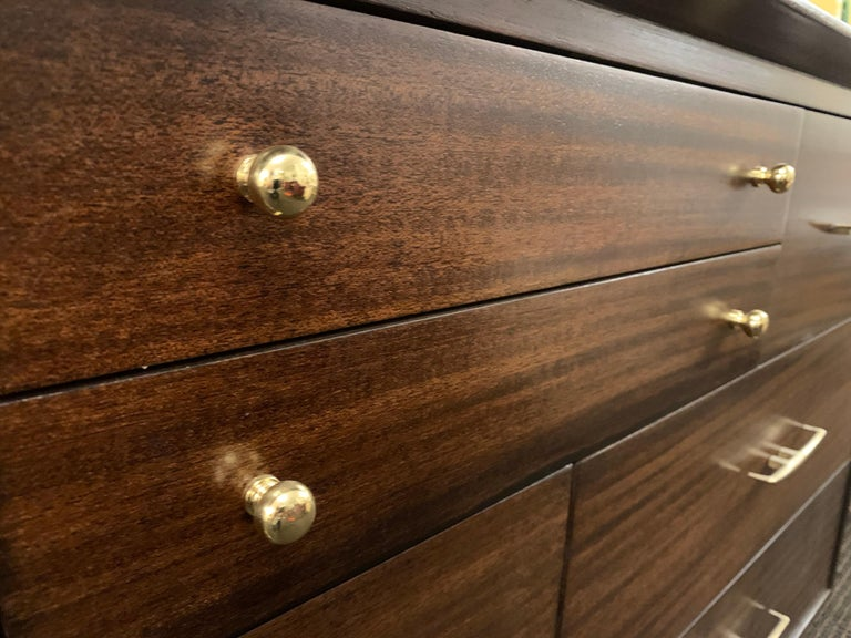 20th Century RWAY Furniture Midcentury Dresser For Sale
