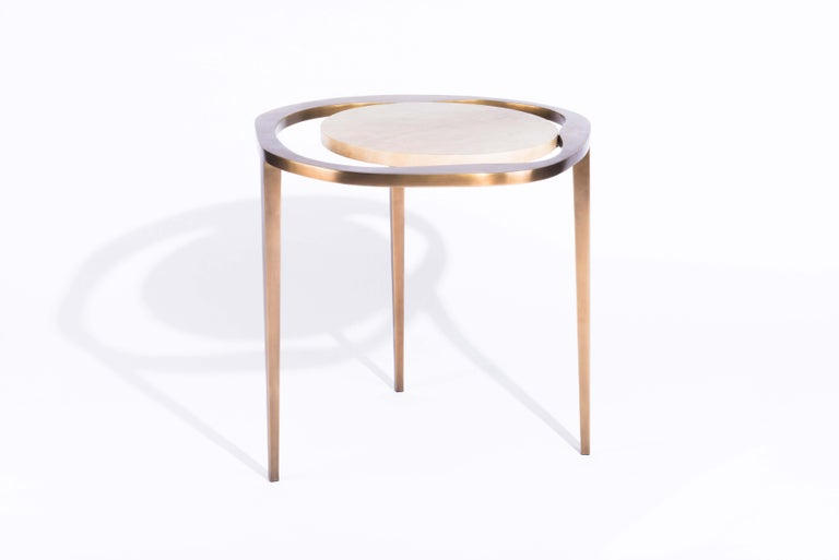 French Nesting Side Table