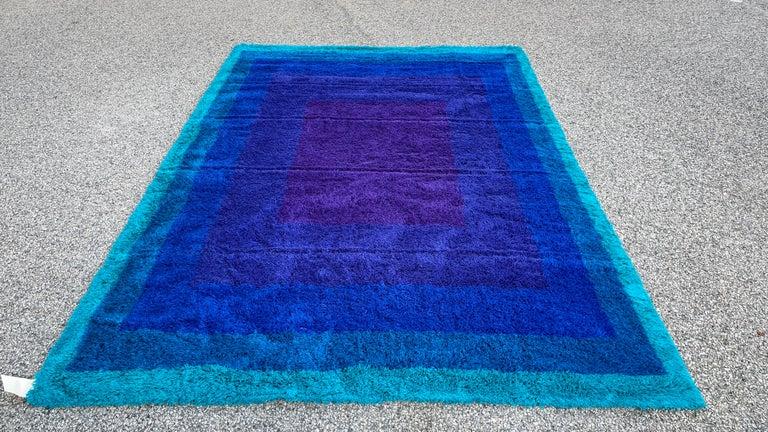 Wool Rya 'Scala' by Hojer Eksport Wilton For Sale