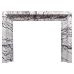 Ryan and Smith Art Deco Style Marble Fireplace