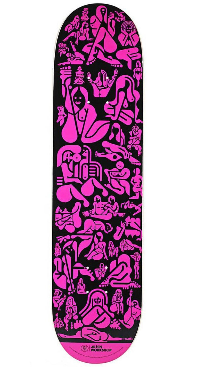"Ryan McGinness ""Woman"" Skate Deck (Ryan McGinness skateboard) - Mixed Media Art by Ryan McGinness"