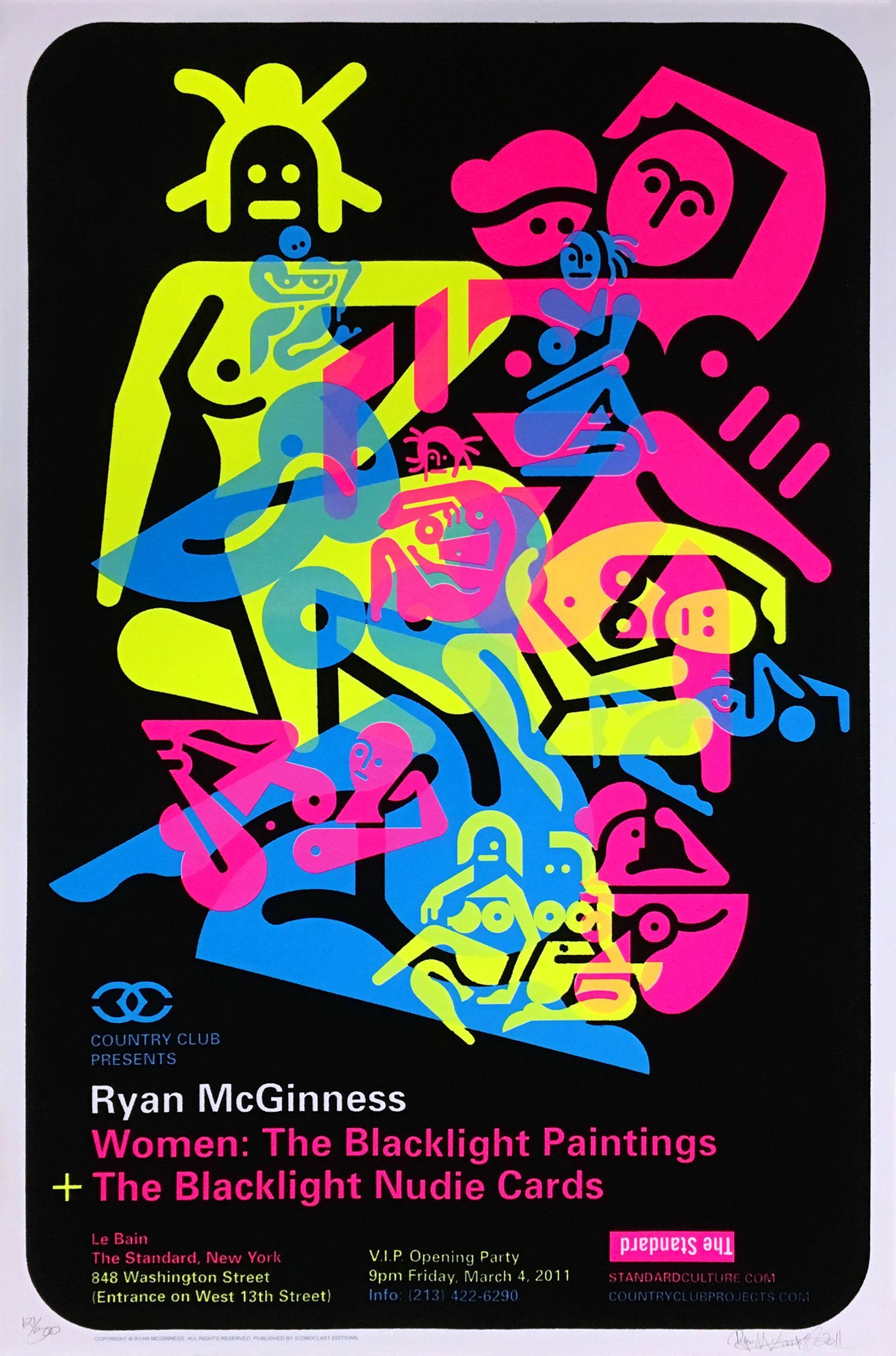 Ryan McGiness Women Screenprint (Neon)