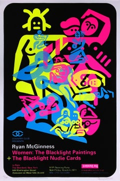 Ryan McGiness Women Screenprint (Neon)