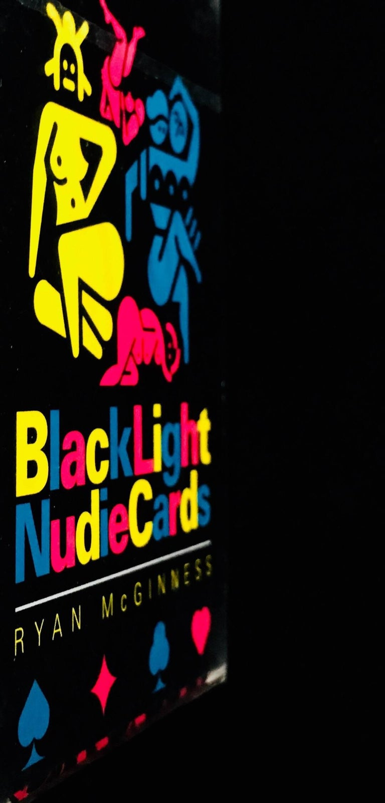 Ryan McGinness Blacklight Nudie Cards For Sale at 1stdibs