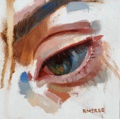 """Hazel"" Oil Painting"