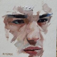 """""""Portrait Sketch"""" Oil Painting"""