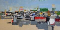 Freeway No. 12 / color abstract city oil painting cars realism