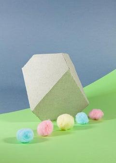 Pastel Tones Still Life, Futuristic Simple Shapes, Miami Inspiration, Limited
