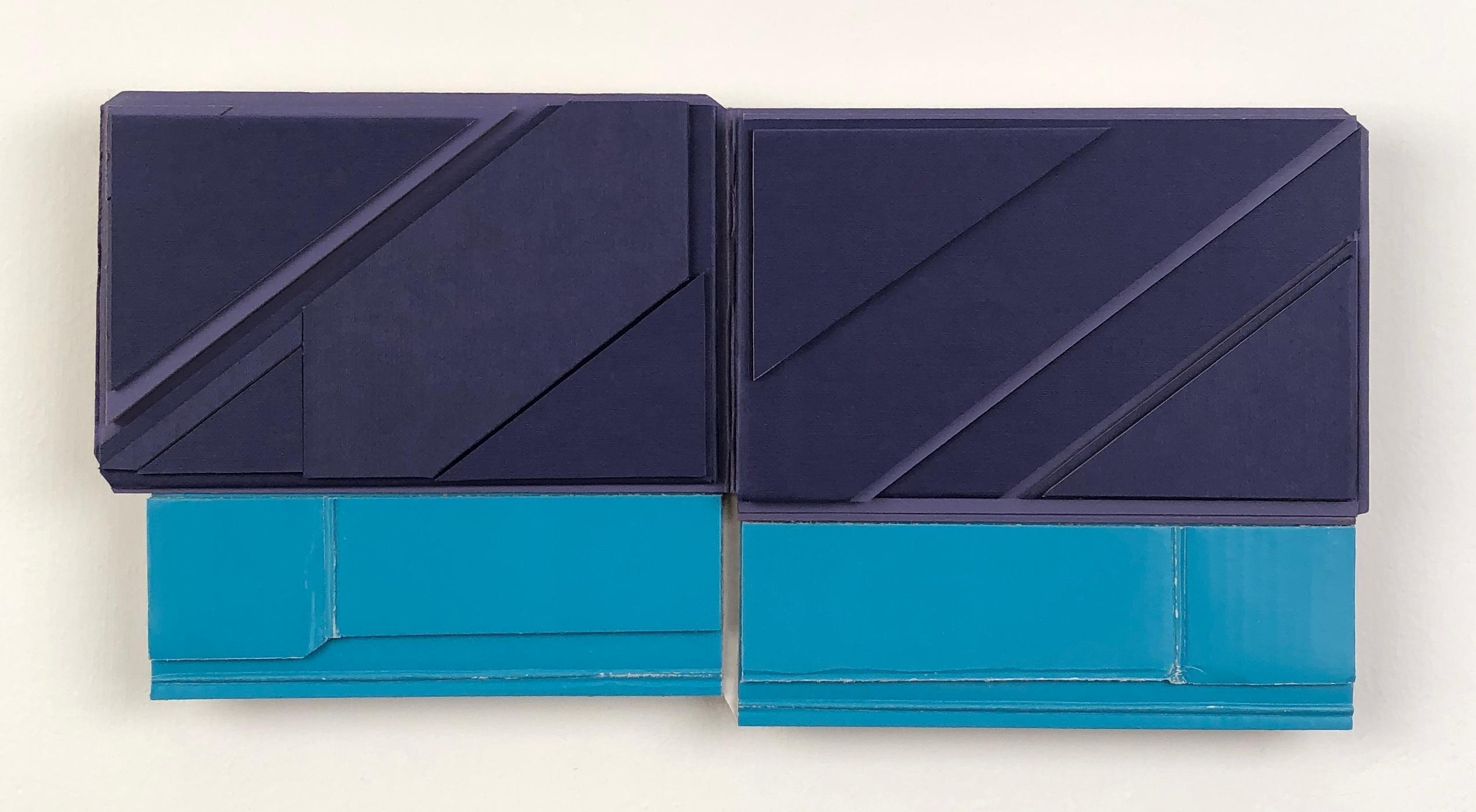 Ryan Sarah Murphy,  Each, 2019, found (unpainted) cardboard, foamcore, 6 x 12 in