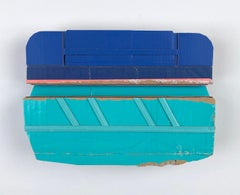 Ryan Sarah Murphy, Tangent, 2019, found (unpainted) cardboard, foamcore